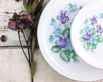 Beautiful Vintage Melmac Floral Dishes