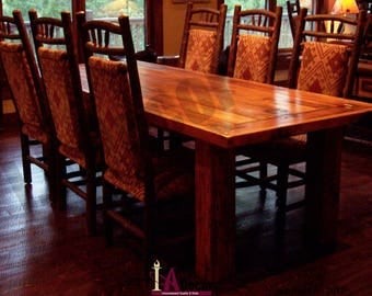 Rustic Dining Table Reclaimed Wood Table Barnwood Table Barnwood Dining  Table Rustic Elegance Table Timber Dining