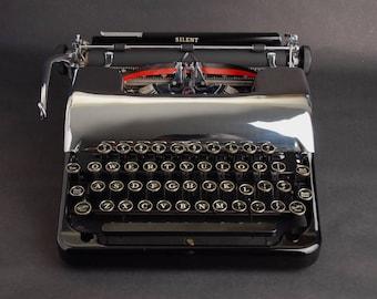 Typewriter Corona Silent 'Floating Shift' Chrome