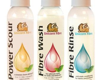 Unicorn clean wool wash - 4oz/118ml bottle