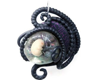 Moment of tenderness ~~~ Tentacles Foetus jewelry
