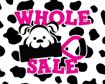Wholesale Handmade Dog Toys Made in USA - Original Size in 10 Colors