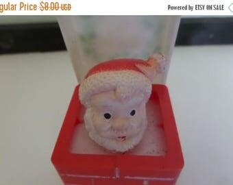 SALE Plastic Santa in Chimney Pop-Up Toy