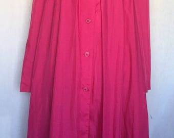 1960's Raincheetahs Hot Pink Coat