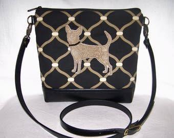 Chihuahua Cross Body Bag - Chihuahua Purse - Chihuahua Handbag- Bag
