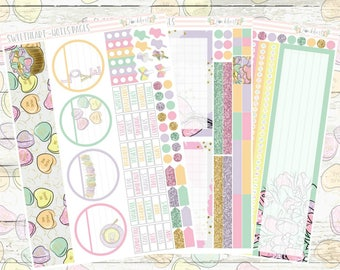 Sweetheart Notes Pages Planner Sticker Kit