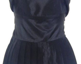Stunning Skirted Bustier/Top with Wide/Long Waist Sash Size  UK 14