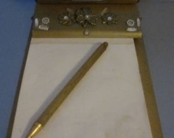 Park Sherman Perpetual Calendar Office Set - Notepad Holder with Magnetic  Mechanical Pencil (without lead) -Rare Pair