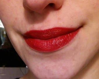 Grable-- Balanced Red Vintage-Color Lipstick