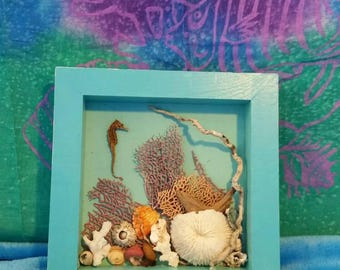 Mini sea wall art