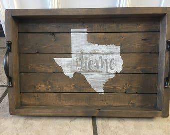 Texas Home Tray