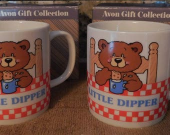 2 vintage Avon LITTLE DIPPER new in boxes