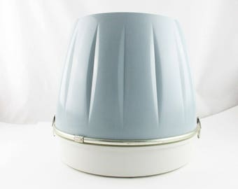 Like New 'Hamilton Beach, Scovill' Salon Hair Dryer - Soft Blue and Ivory - Working Salon Hair Dryer From the Late 50s