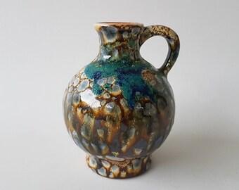 Marei Keramik vase with decor Kolibri