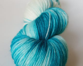 TO order - skein of Superwash Merino / Nylon - Fingering / Sock - H2O colors