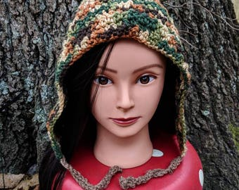 Hues of the Woods Pixie Hood