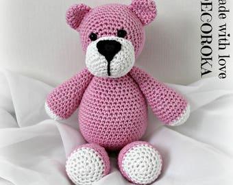 Hand-made crochet Teddy bear MINI.