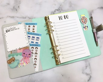 TO DO - Planner Inserts - Planner inserts for Medium/Personal Planners Filofax or personal Kikki K