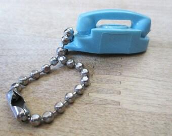 Vintage 1960's Princess Phone Key Chain - Estate find