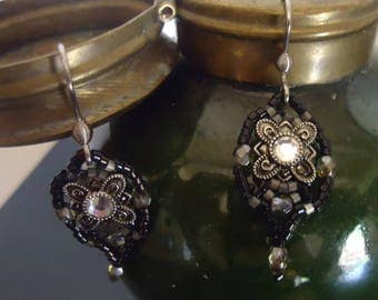 """Earrings"" Chiaroscuro ""uniquely well! MAPERLE"