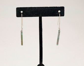 Bermuda Square Tube Earrings 3