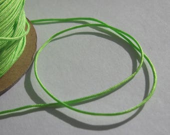 1 m of thread for jewelry, cotton and polyester 1 mm thick approximately (62)