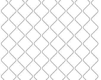 Quilting stencil | Etsy : plastic quilting stencils - Adamdwight.com
