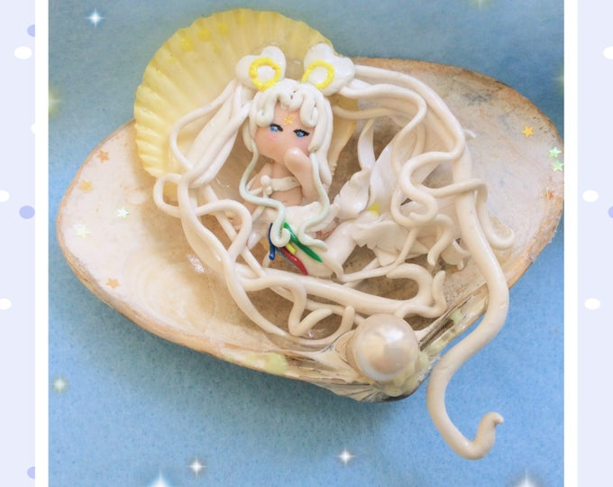 Sailor Moon Cosmos Mermaid Handmade Figurine