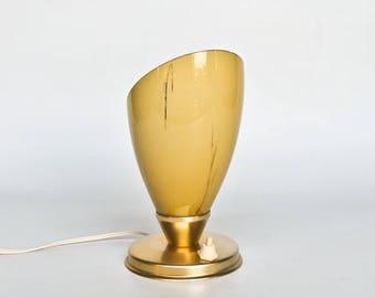 Mid Century Table Light  / Vintage  Bedside Lamp / Mid-Century Lighting / 50s Italy