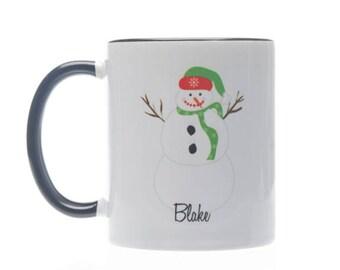 Christmas Snowman Coffee Mug - Personalized Christmas Mug-You Are Snow Special