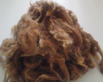MANX LOAGHAN rare breed washed fleece