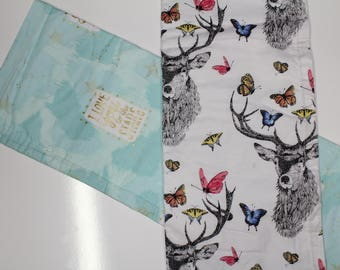 Fun Prints: Changing Pad, Waterproof Travel Size Changing Pad, Baby Changing Mat, On the Go Changing Mat, Deer, Magic, Mermaid