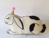 Large Stanley Lop Eared Rabbit Cushion