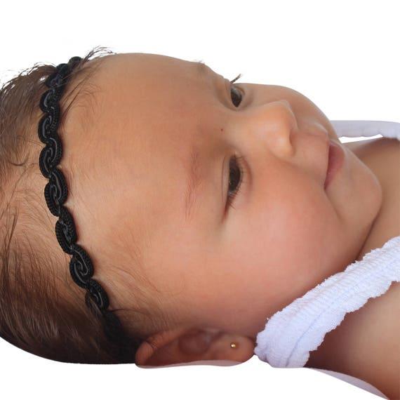Black HeadbandBaby Headband, Black Headband, Baby Headband, Infant Headbands, Baby Accessories, Newborn Headband, Black Headband Baby
