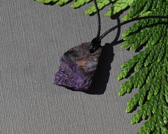 Sugilite Pendant with  cord