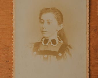 Victorian Faded Portrait Cabinet Card