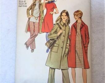 Simplicity Pattern 9632 size 18.5 - 1971