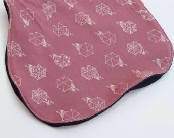 Organic Fleece Burp Cloth / Organic Baby / New Baby Gift / Gender Neutral / Gender Free