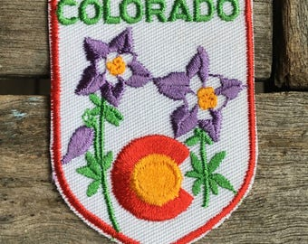 Colorado Vintage Travel Patch from Voyager