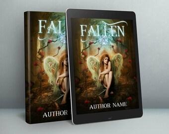 Fallen broken Angel premade cover art