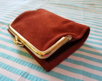 St. Thomas Suede Wallet