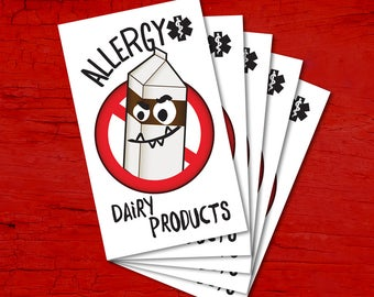 Tattoos for children allergic to DAIRY PRODUCTS.
