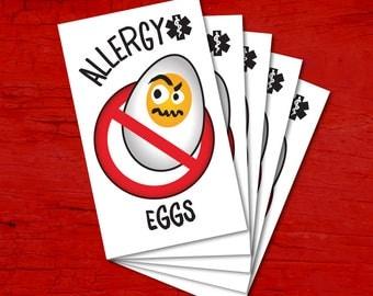 Tattoos for children allergic to EGGS.