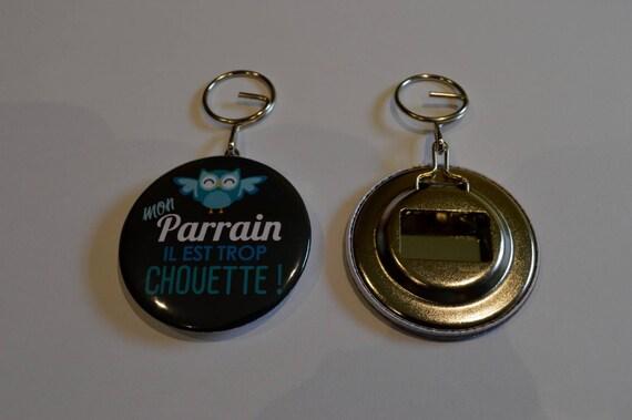 bottle opener and keychain special godfather black. Black Bedroom Furniture Sets. Home Design Ideas