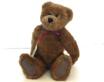 Raleigh Boyds Bear Vintage Collectible stuffed Brown Bear