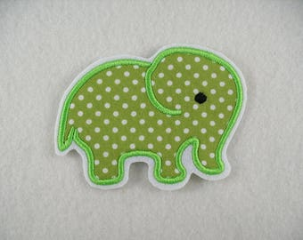 Embroiderer, Elephant, 10 x 7 cm (253)