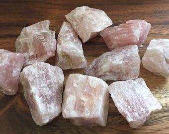 Mangano Pink Calcite, Natural Stone, Heart Stone, Healing Stone, Healing Crystal, Chakra Stones, Spiritual Stone