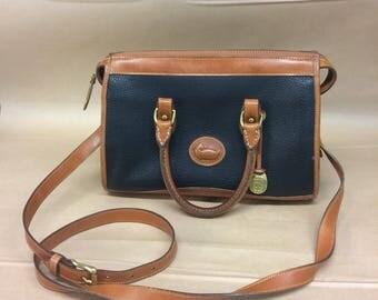 Dooney & bourke vintage leather handbag