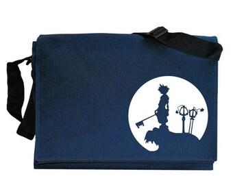 ON SALE Sora Full Moon Navy Blue Messenger Shoulder Bag