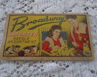 Vintage Needle Book/Case
